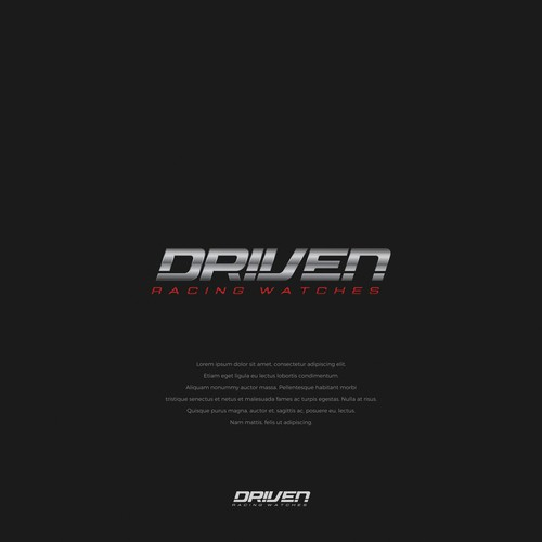 DRIVEN RACING WATCHES
