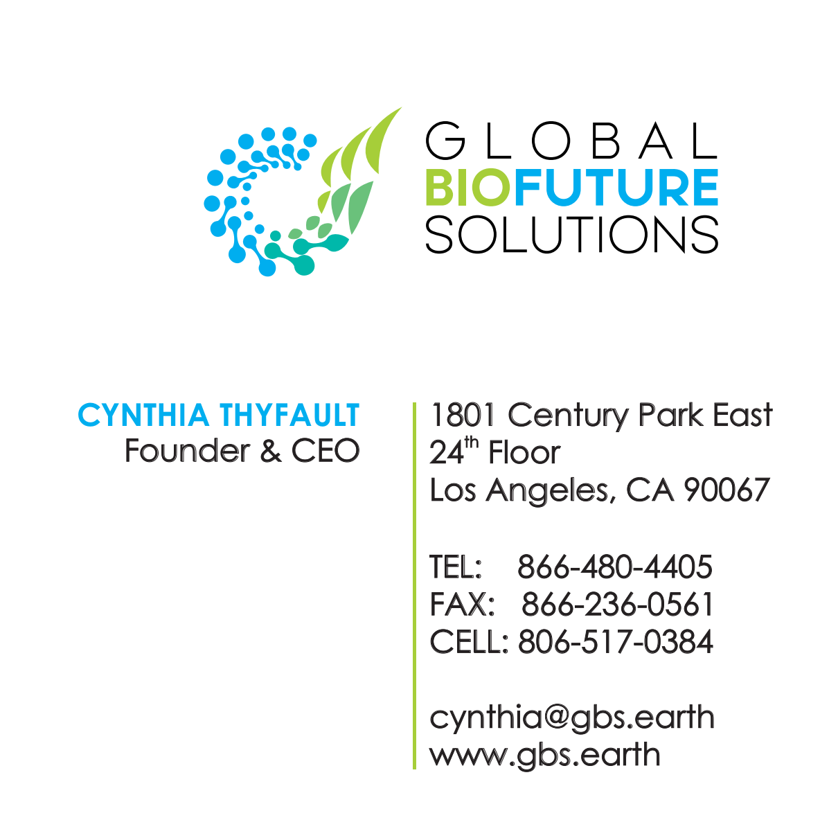 Global BioFuture Solutions and QuantaVision Design Packages