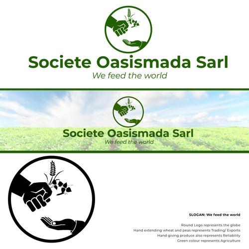 Logo concept for oasismada
