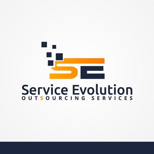 Logo design for service company