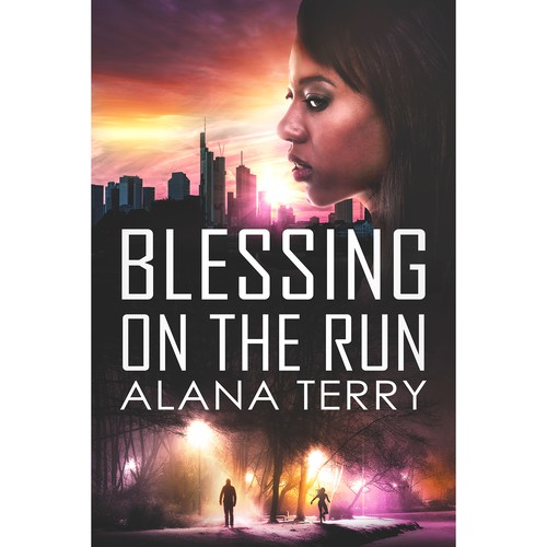 'Blessing on the run' book cover