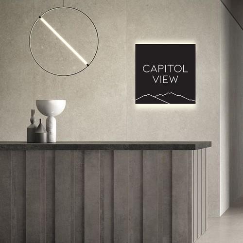 Capitol View Logo Design