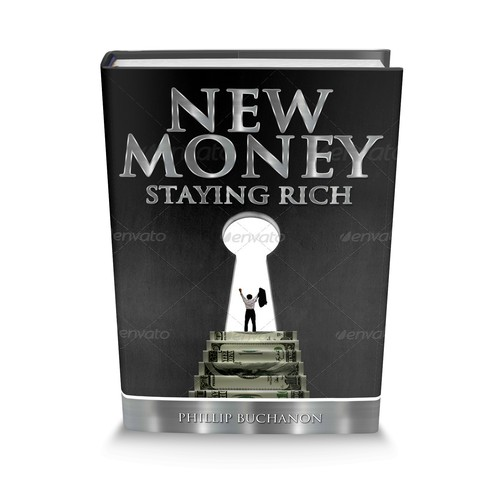 "Create a captivating book cover that represents ""New Money"""