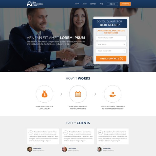 Debt Consolidation Loan Site Needs A New Site