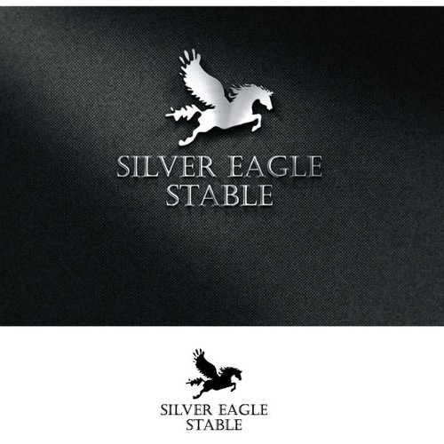 Create a memorable logo for a new full-service horse riding and boarding business