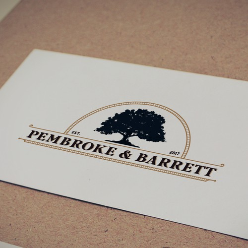 Vintage logo entry for kitchenware brand Pembroke & Barrett