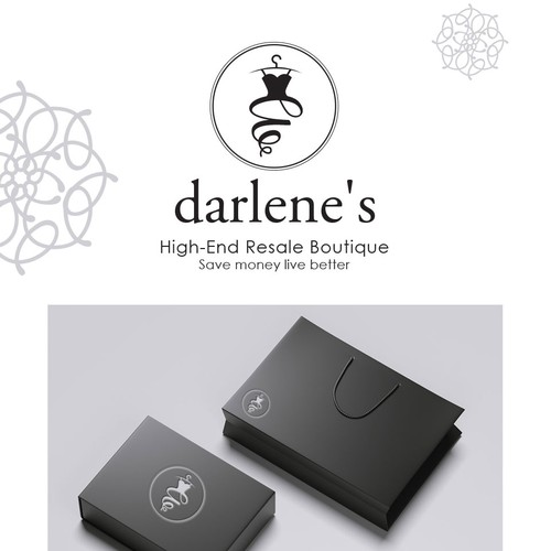 Logo Design For Darlene's Boutique