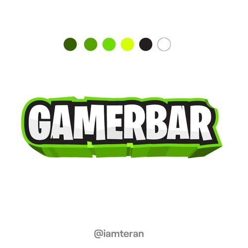 Logo Concept for GamerBar