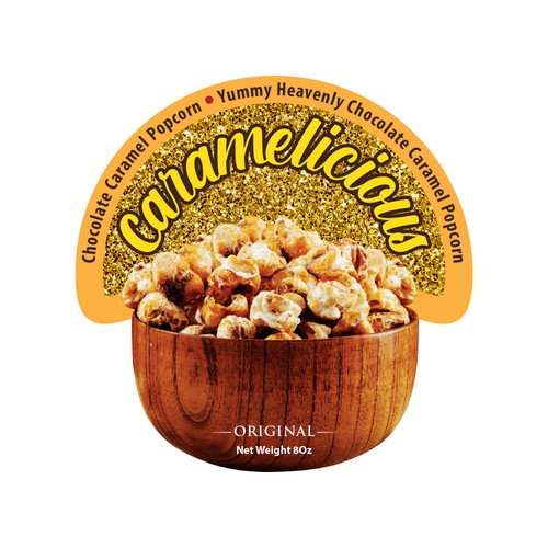 popcorn label
