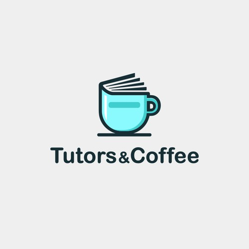 logo design for tutors and coffee