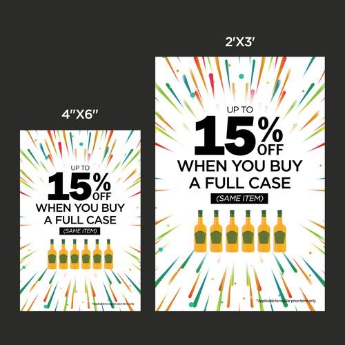Liquor Store Promo Poster