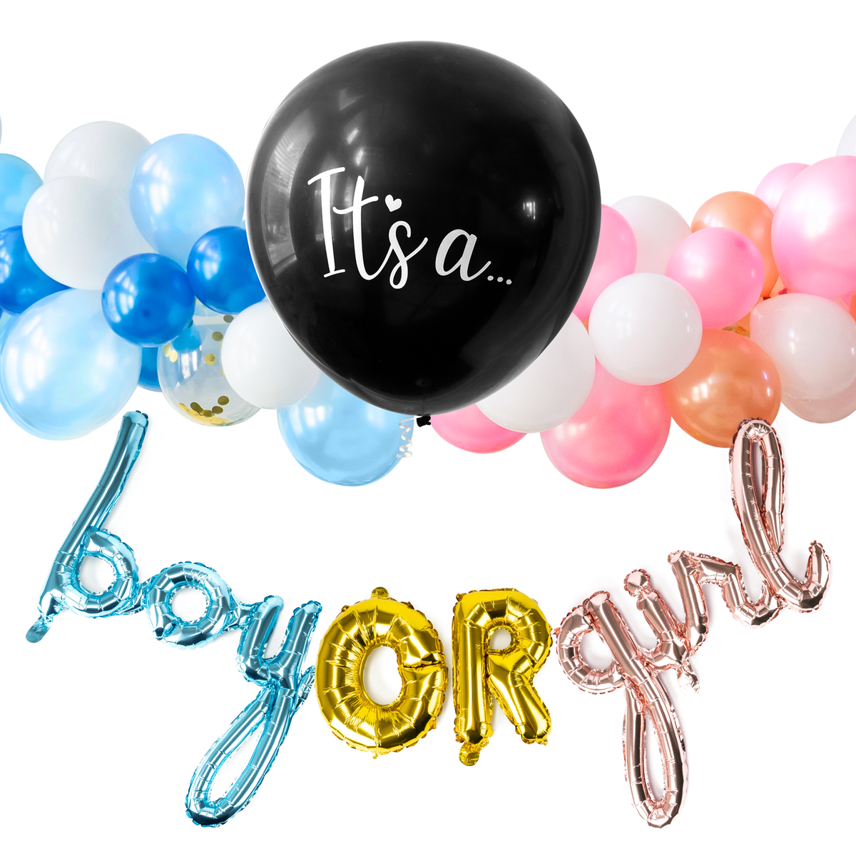 Banner for Gender Reveal Balloon Bundle EBC