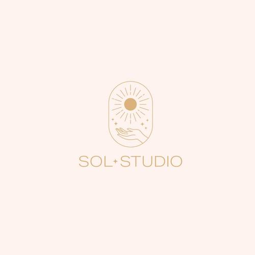 Celestial Logo for Wellness Studio