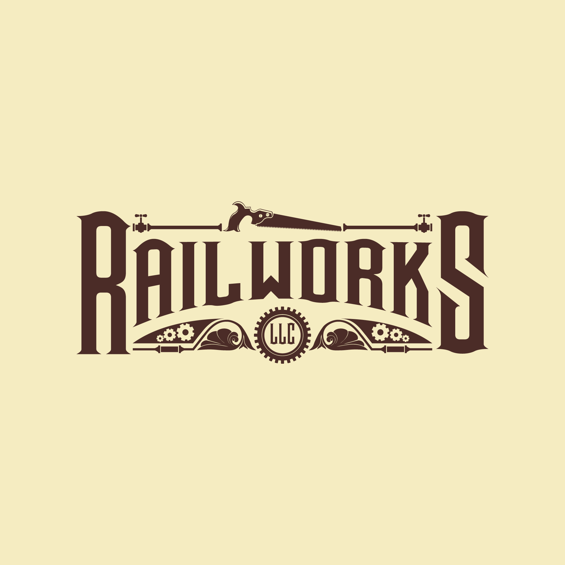 Railworks needs a clever logo with a steampunk vibe!