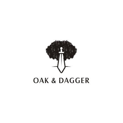 Bold logo concept For Create a Timeless, inspiring logo for Oak & Dagger