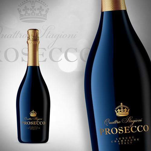 Bottle Quattro Stagioni Prosecco - Luxury Prosecco