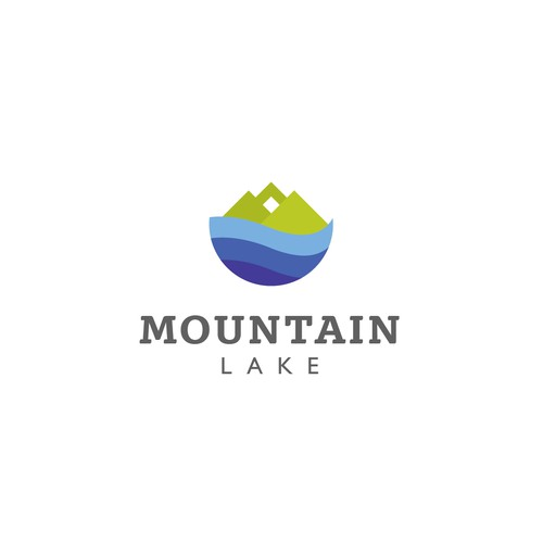 Logo for a real estate business