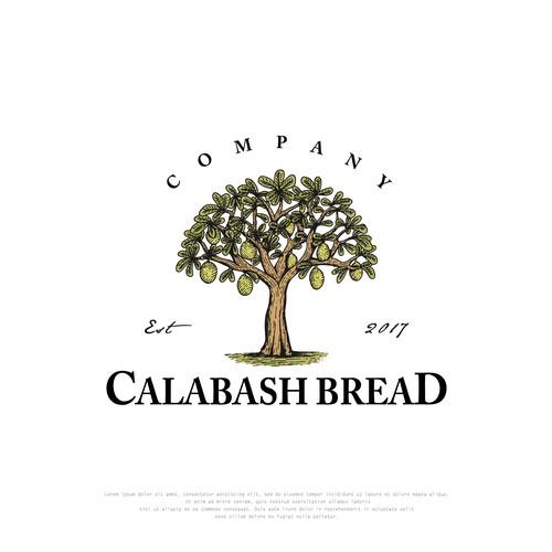 Vintage Logo design for Calabash Bread Company