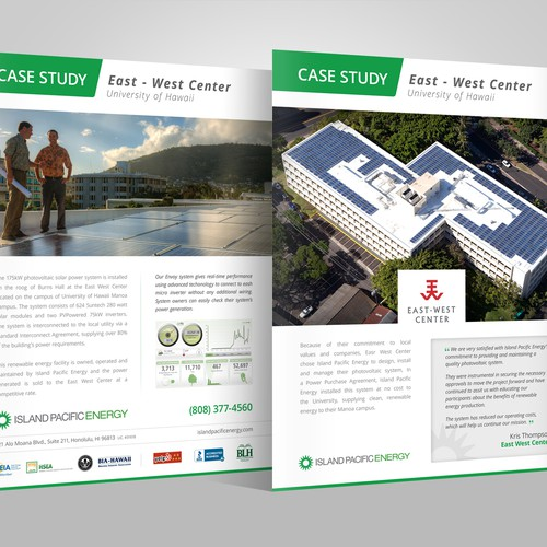 Need Refresh of Case Study Flyer