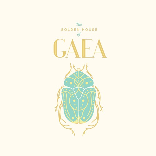 Fashion brand logo GAEA