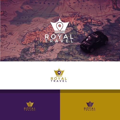 Minimal and simple Travel company logo