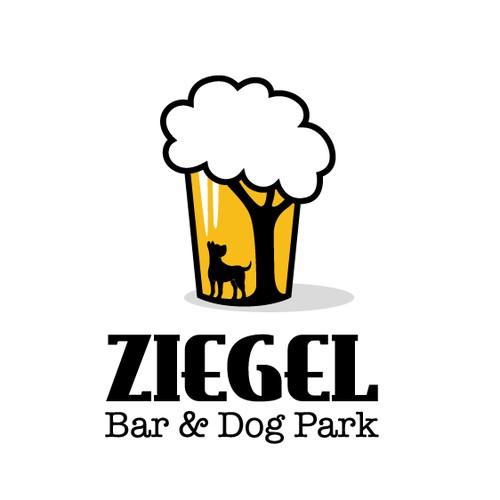 Dog park meet bar