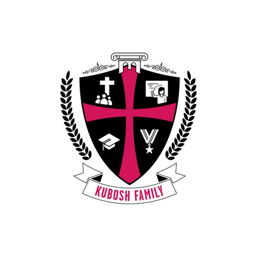 Modern family coat of arms