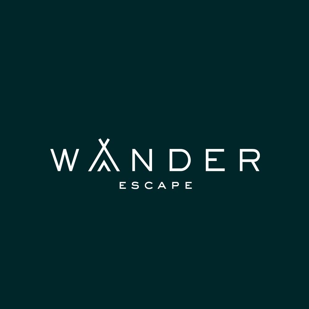 Nombre, logo, guia de marca, imagen corporativa y página web para una marca hotelera ecoturistica