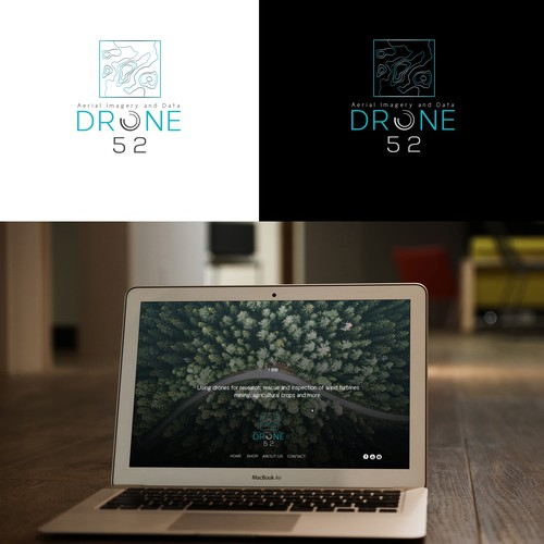 Logo for a Drone Company