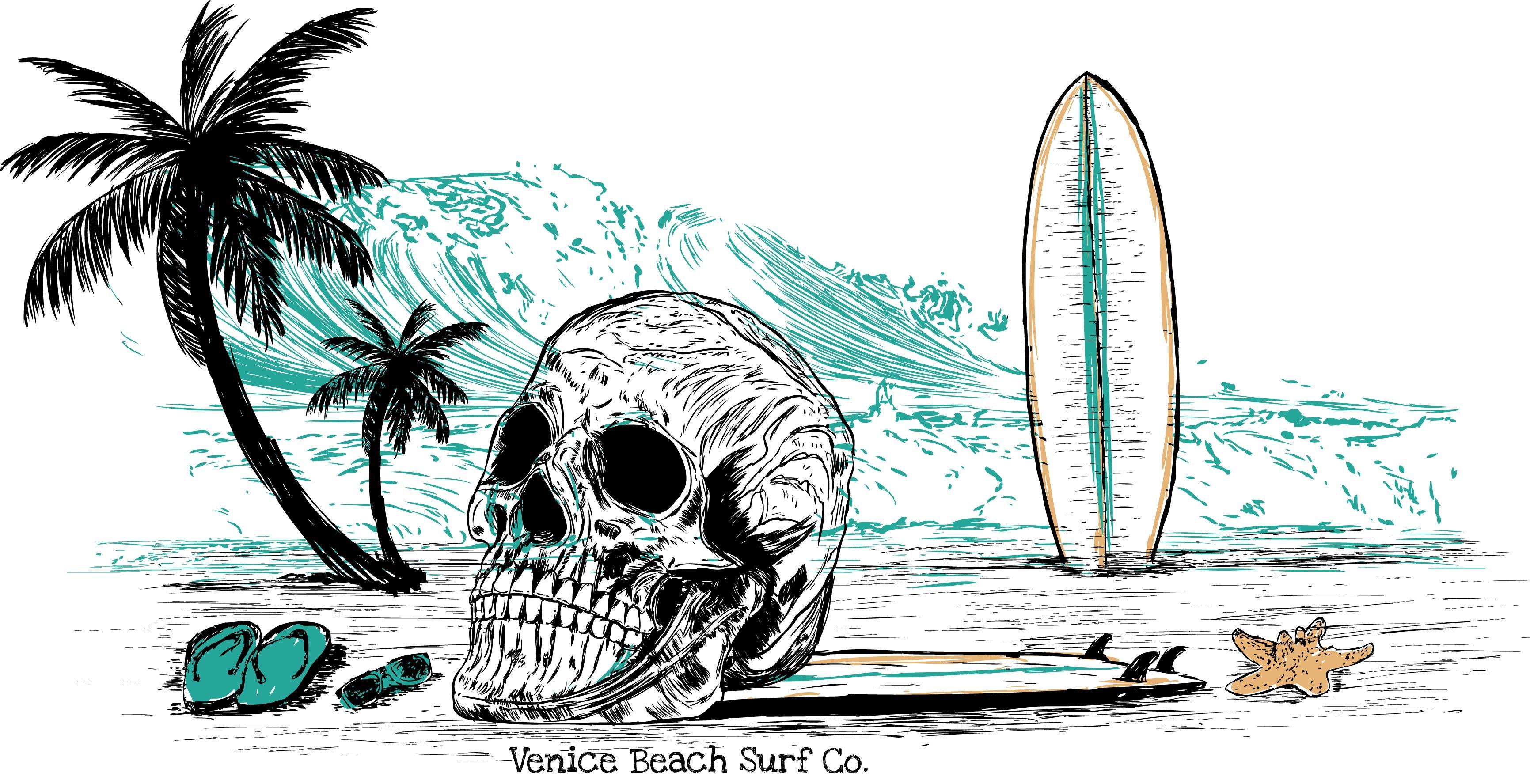 Edgy Venice Surfshop needs designs