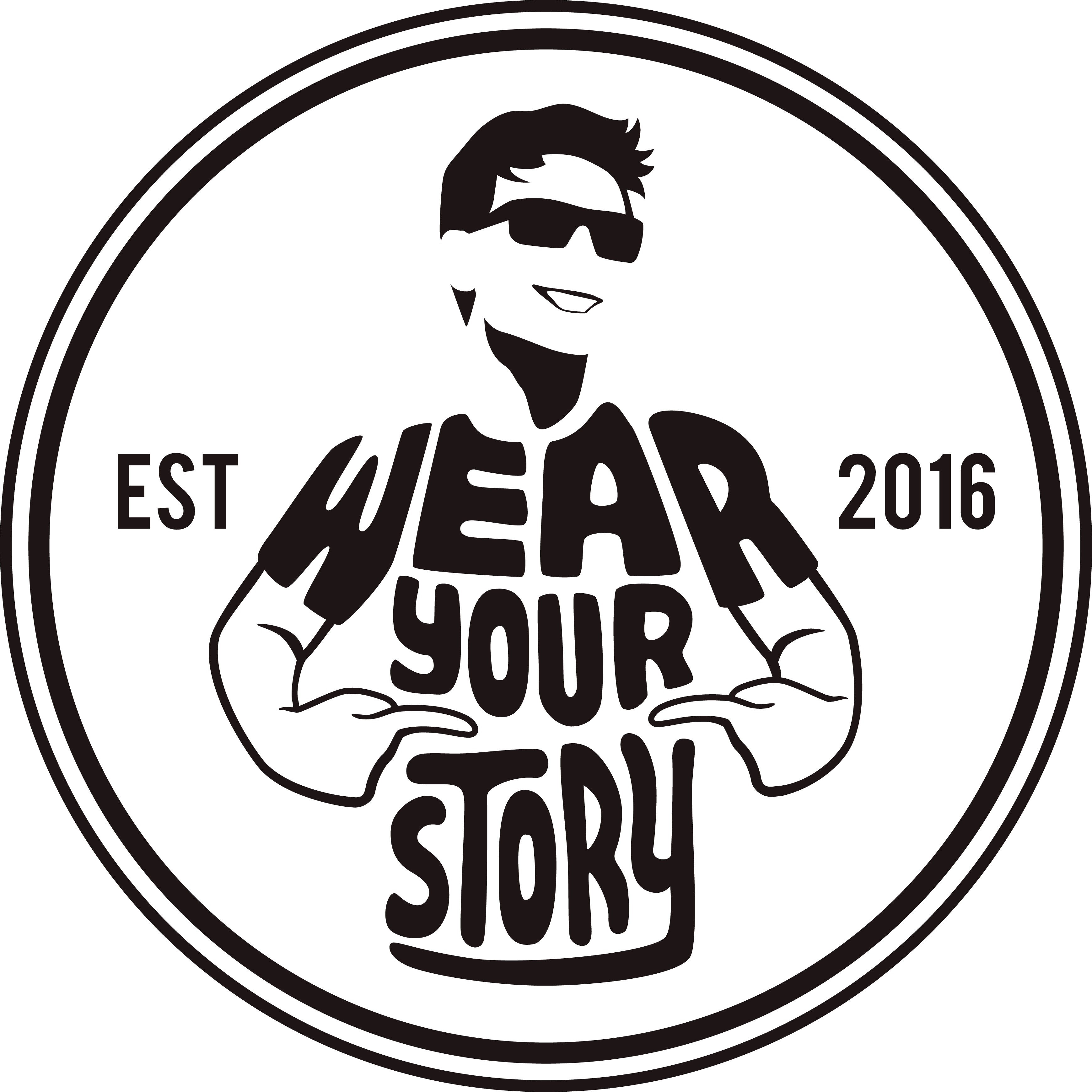 "I CHALLENGE you...yes YOU!! Create a captivating logo for ""Wear Your Story"" a fashion company that helps people in need"