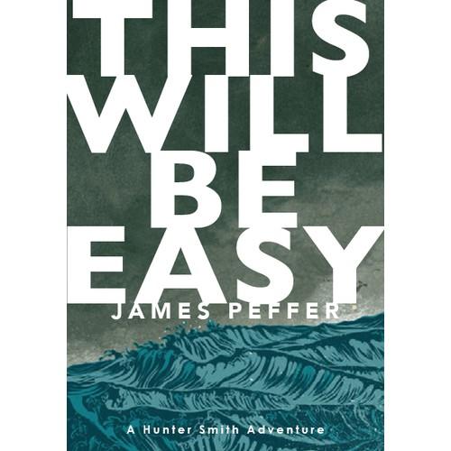 Book Cover Design for an Adventure Novel