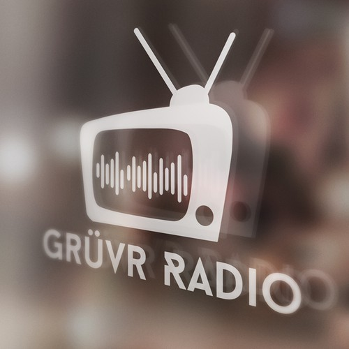 Logo for a TV Theme Song Radio Station
