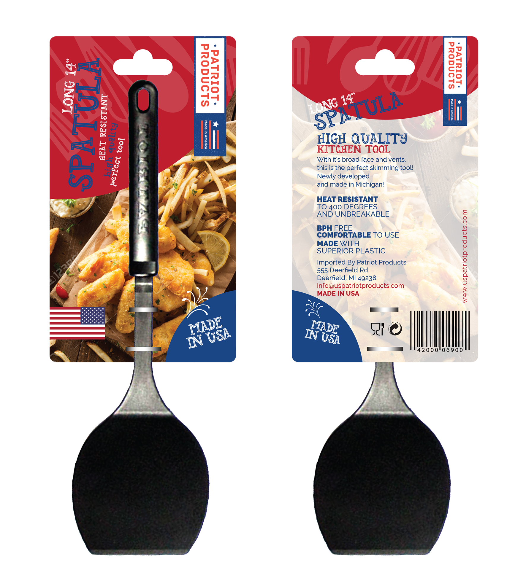 Create  a great feeling to buy American Made - Make a difference-Design for our utensils Hang Tags
