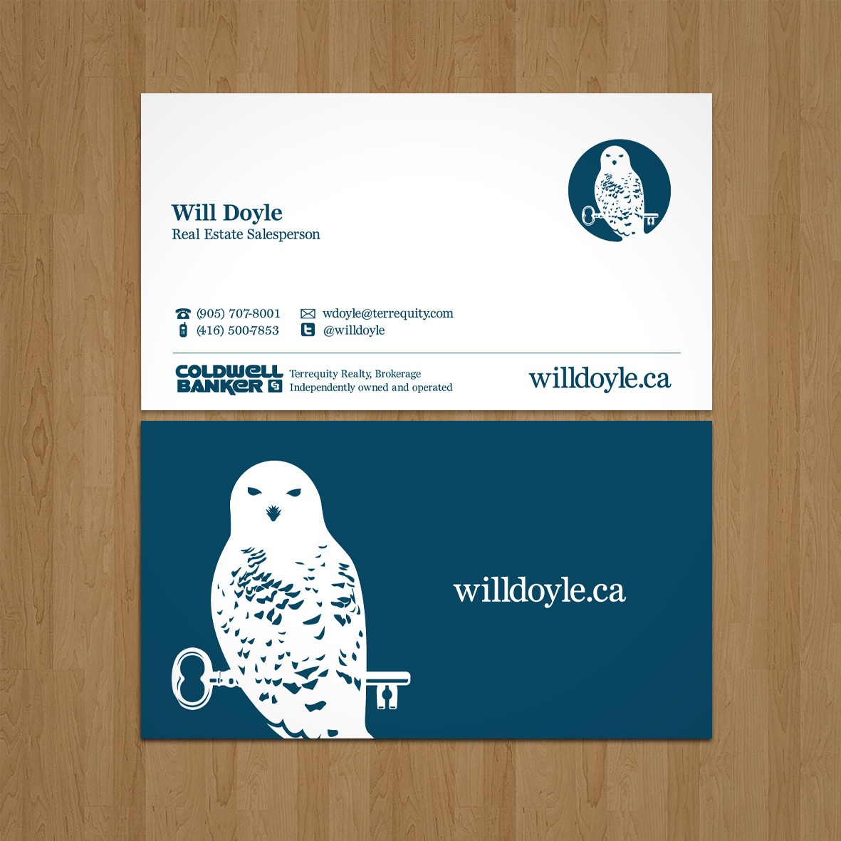 Create an awesome business card for Will Doyle