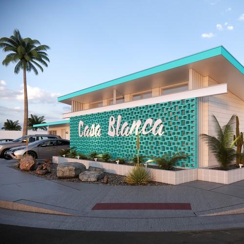 Motel renovation