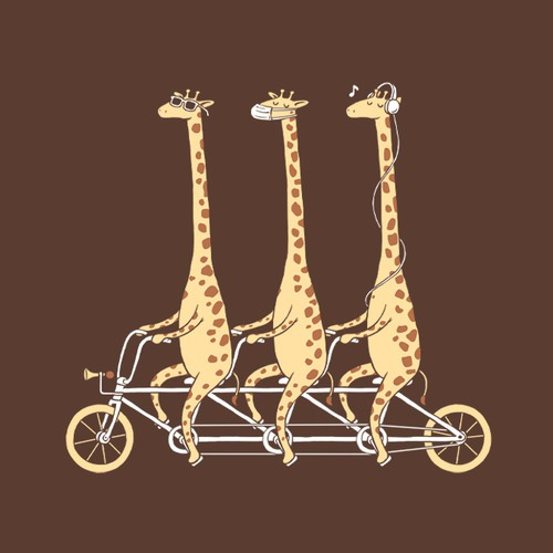 Three Wise Giraffes