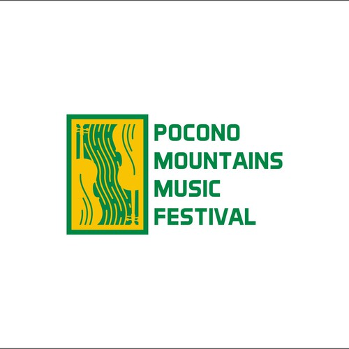 logo concept for music festival.
