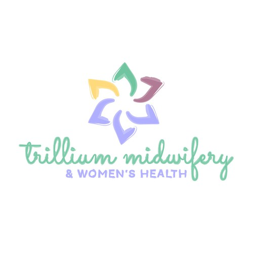 Earthy Logo Concept for Midwifery Company