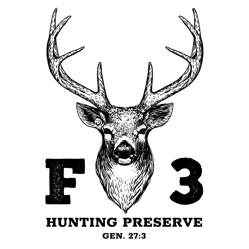 Design a vintage inspired logo for a family orientated hunting preservation.
