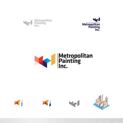 Logo for Metropolitan Painting Inc