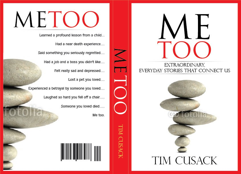 Create the next book or magazine cover for Tim Cusack