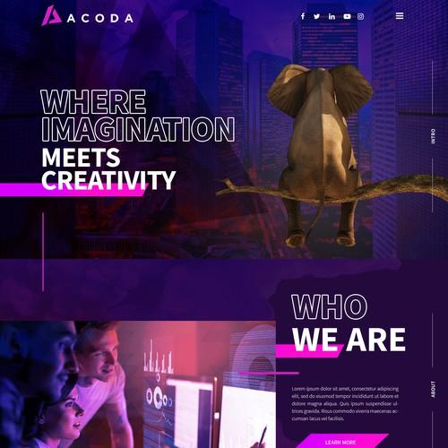 Digital Services Agency Web Design