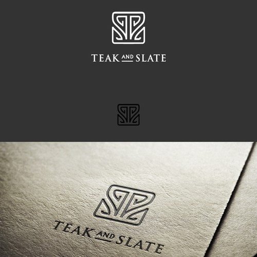Teak and Slate