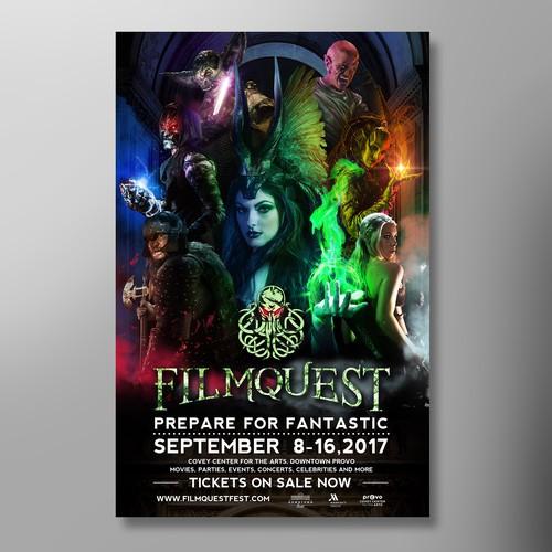 Filmquest poster design