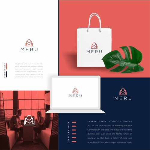Logo for e-commerce app for mission-driven brands