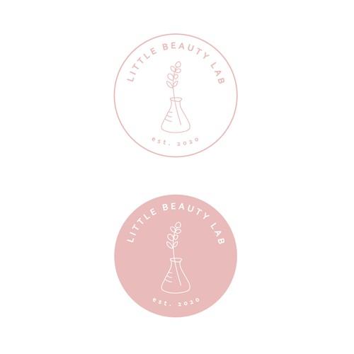 Logo for cosmetics lab