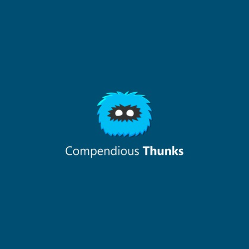 logo concept for compedious thunks