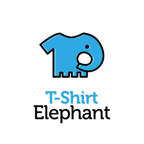 Logo T-Shirt Elephant