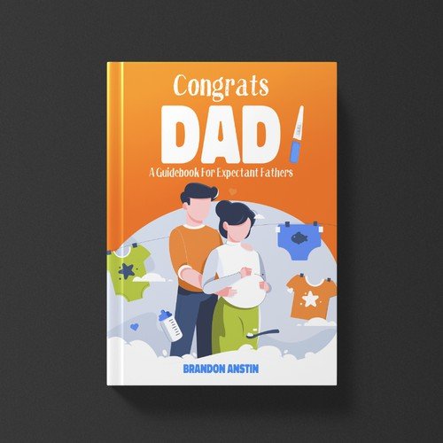 book cover 'Congrats Dad!'